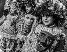 Il Carnevale in bianco e nero